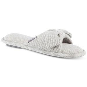 Isotoner Dani Waffle Knit Slide Slippers 8.5 - 9